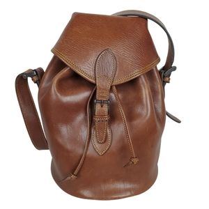 Chasse made in Spain Leather bucket shoulder bag
